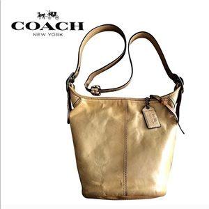 Handbags - Genuine leather bucket Coach Bag,
